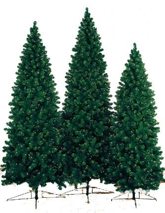 Artificial Christmas Trees on Artificial Prelit Oregon Fir Christmas Trees  Niche Gifts Com